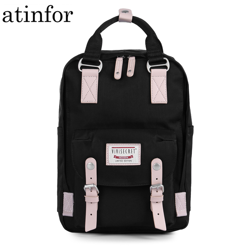 High Quality Brand Candy Color Classic Waterproof Small Backpack Women Laptop School Mini Backpacks Bag for Lady BookbagHigh Quality Brand Candy Color Classic Waterproof Small Backpack Women Laptop School Mini Backpacks Bag for Lady Bookbag