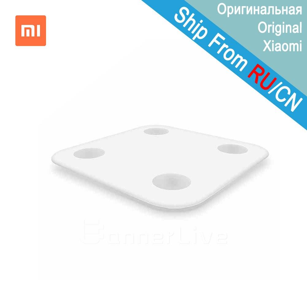Новый оригинальный Xiaomi mi Smart напольные весы с mi fit приложение и тестер состава тела с Скрытая светодиодный Дисплей и большой коврик для ног