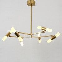 Modern Chandeliers For Living Room Bedroom Foyer Lustres Led Acrylic Lamp Shade Lighting For Home Light Fixtures Gold Iron 220V