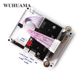 Image 4 - DIY Reproductor MP3 Player TF Card USB Decoder Module DC 12V WAV Lossless Decodering Board Bluetooth Blue LED FM Radio Car KIT