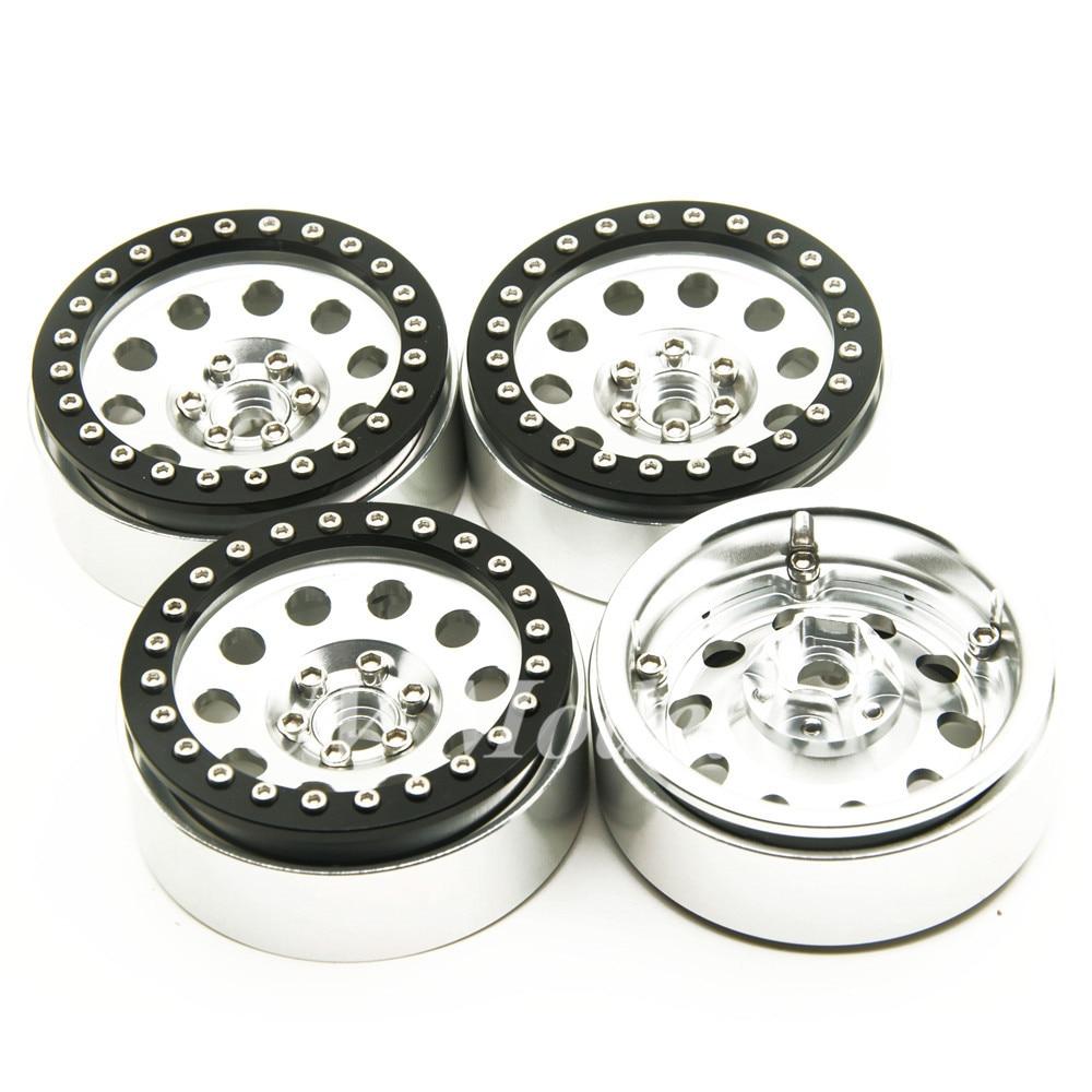 2.2inch Wheel Rims For Wraith RC4WD 8 spoke Alloy Beadlock 1/10 Crawler Car 2.2 Wraith Wheels High Quality 2 2inch wheel rims for wraith rc4wd 8 spoke alloy beadlock 1 10 crawler car 2 2 wraith wheels high quality