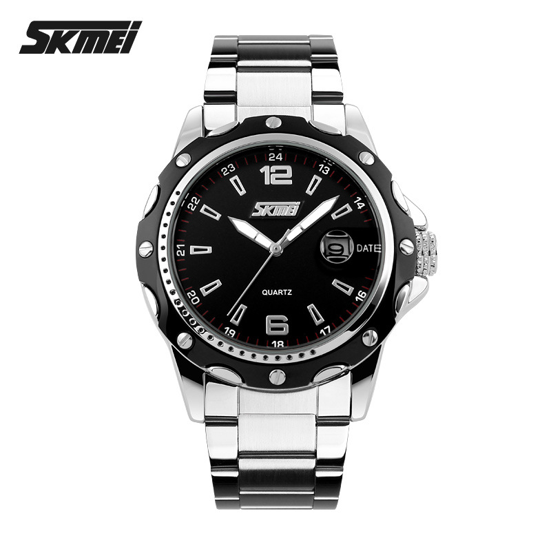 2018 new watches for women quartz watch luxury stainless steel business wristwatch big dial female watches 30M waterproof hot muhsein hot sellingnew lovers quartz watches stainless steel watch business women dress watches for couples free shipping