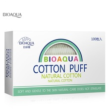 BIOAQUA 100 pcs makeup cotton wipes makeup tools nail polish face tips removal high quality cotton pads wipe cotton cosmetics