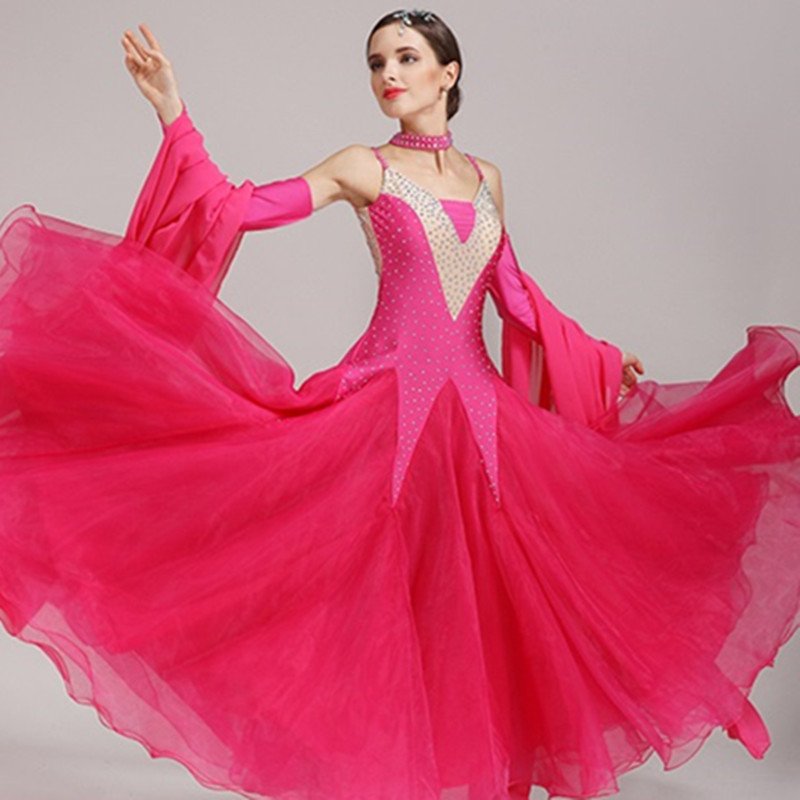 acbabb491 ballroom dress waltz modern dance dress ballroom dance competition dresses  standard ballroom dancing clothes tango dress