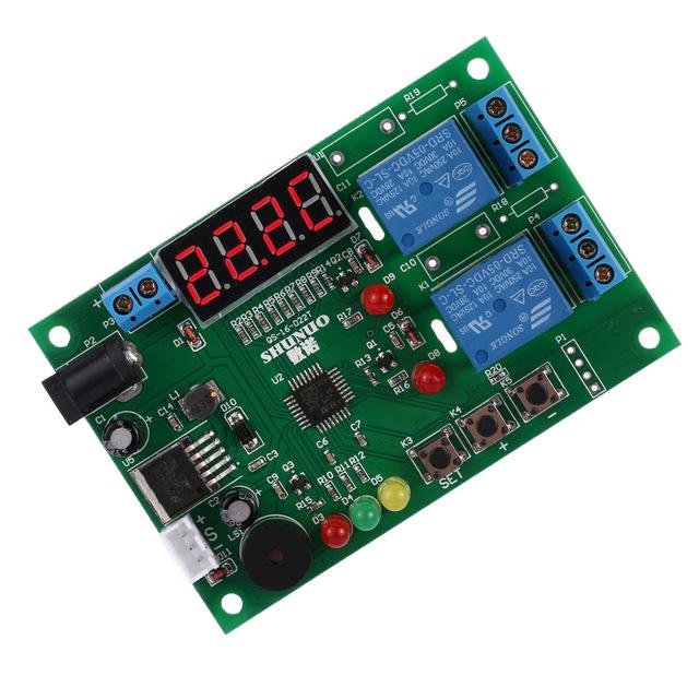 HOT Digital regulador Controlador De Temperatura E Umidade Módulo de controle do Relé térmico Inteligente com Função de Alarme Indicador LED