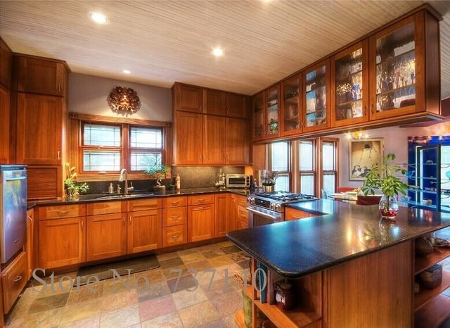 Ahorn küchenschrank Foshan möbel fabrik hohe qualität massivholz ...