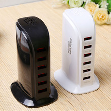 Portable 6 Usb Fast Charger For Charging Docking Station Apple Dock Iphone Watch Phone Wall