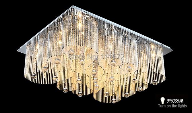 Plafoniere Di Cristallo : Vendite calde contemporanea cristallo lampada lampadario di