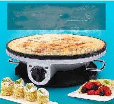 Elektrische Crepe Maker Pizza Pfannkuchen Maschine Non stick Bratpfanne backform Kuchen maschine küche kochen werkzeuge - 3