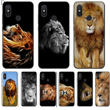 Lion Animal Diy Luxury High-end Phone Case Cover For Xiaomi Mi 6 8 Lite A1 A2 5X 6X F1 Cases(China)