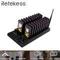 RETEKESS T112 Беспроводная система подкачки ресторанная пейджер, оборудование для ресторана с вибратором, 3 режима напоминания для ресторана