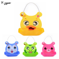 2016 Fashion Cartoon Children Baby Bibs Stereo Waterproof Kids Clothing Accessories Pocket Plastic Baby Bibs Silica Gel ZH059
