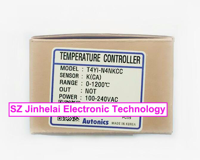 T4YI-N4NKCC New and original AUTONICS 100-240VAC Temperature controller 100% new for air conditioning air conditioner fan motor dc motor sic 310 40 2 40w 0010403322a dc310v