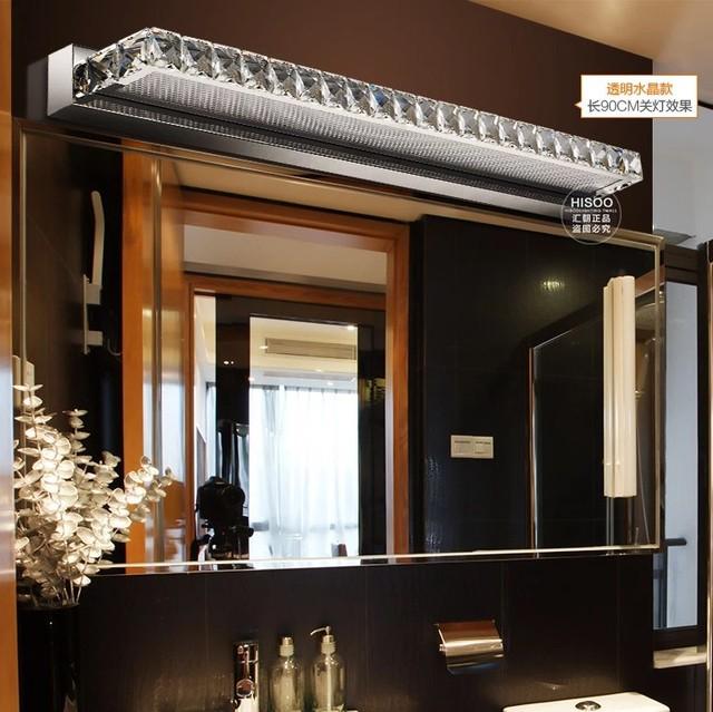 Mode Moderne Kristall Hihtlight Streifen Licht Hotel LED Wandleuchte Luxus  Badezimmer Wandleuchte Spiegel Scheinwerfer