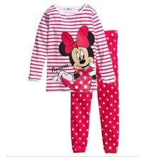 Hot sale Children boys girls kids Clothing Sets Cartoon suits 2 pcs Sleepwear Long Sleeve Cartoon Pajamas