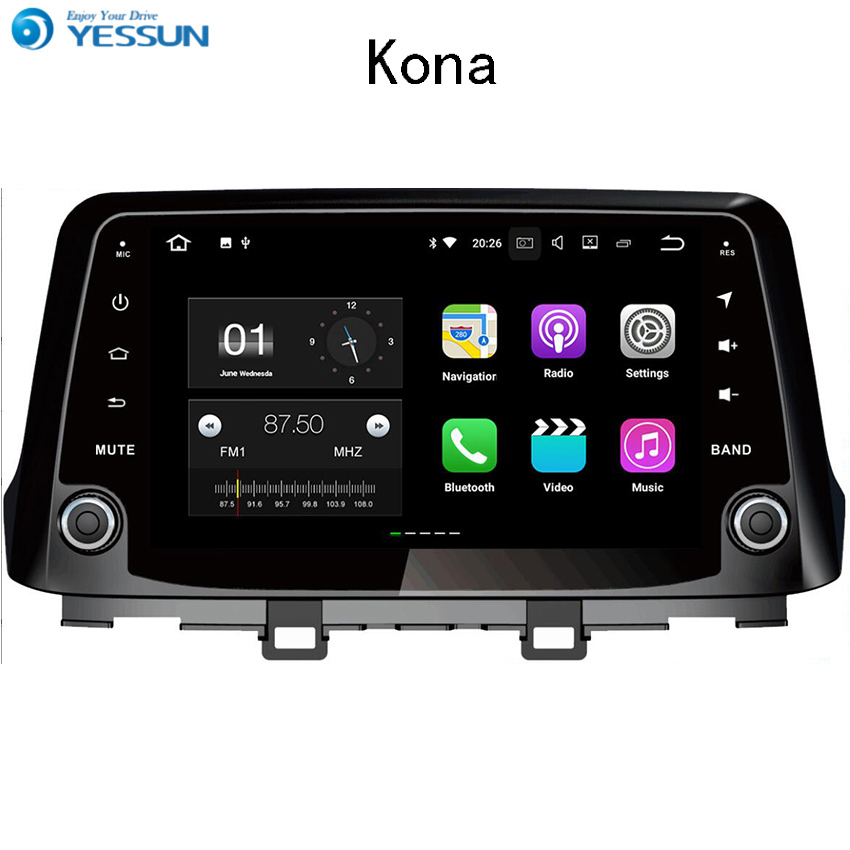 YESSUN Android Car Navigation GPS For Hyundai Kona 2015