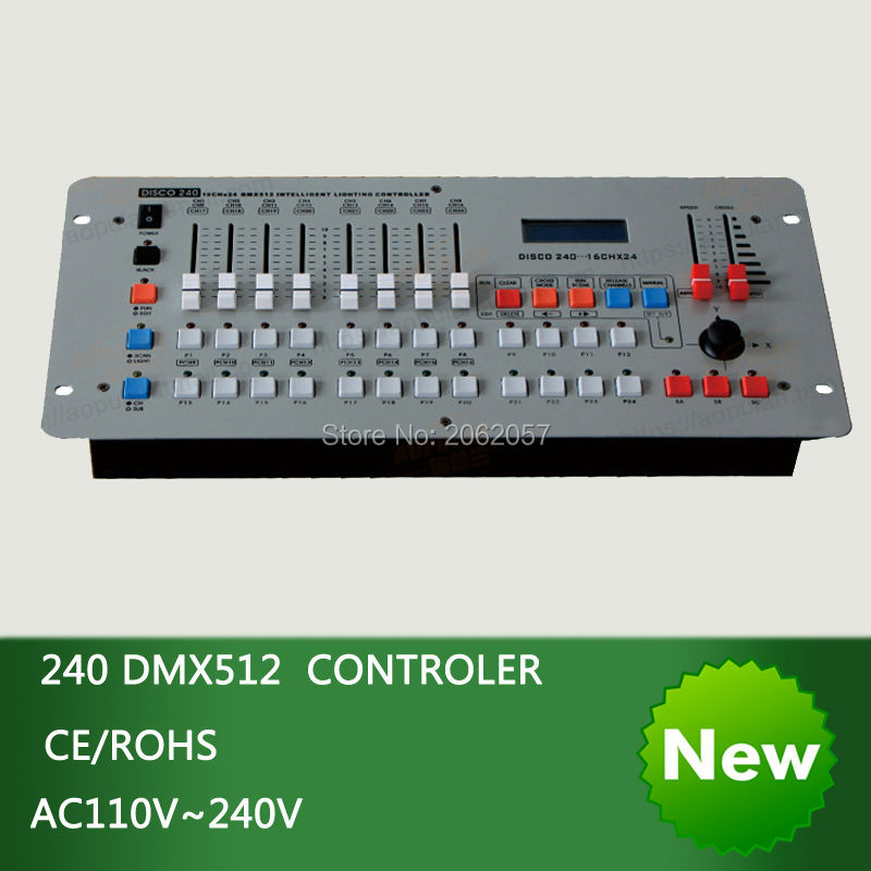 Hot sale International standard DMX 240 controller moving head beam light console DJ 512 dmx controller equipment