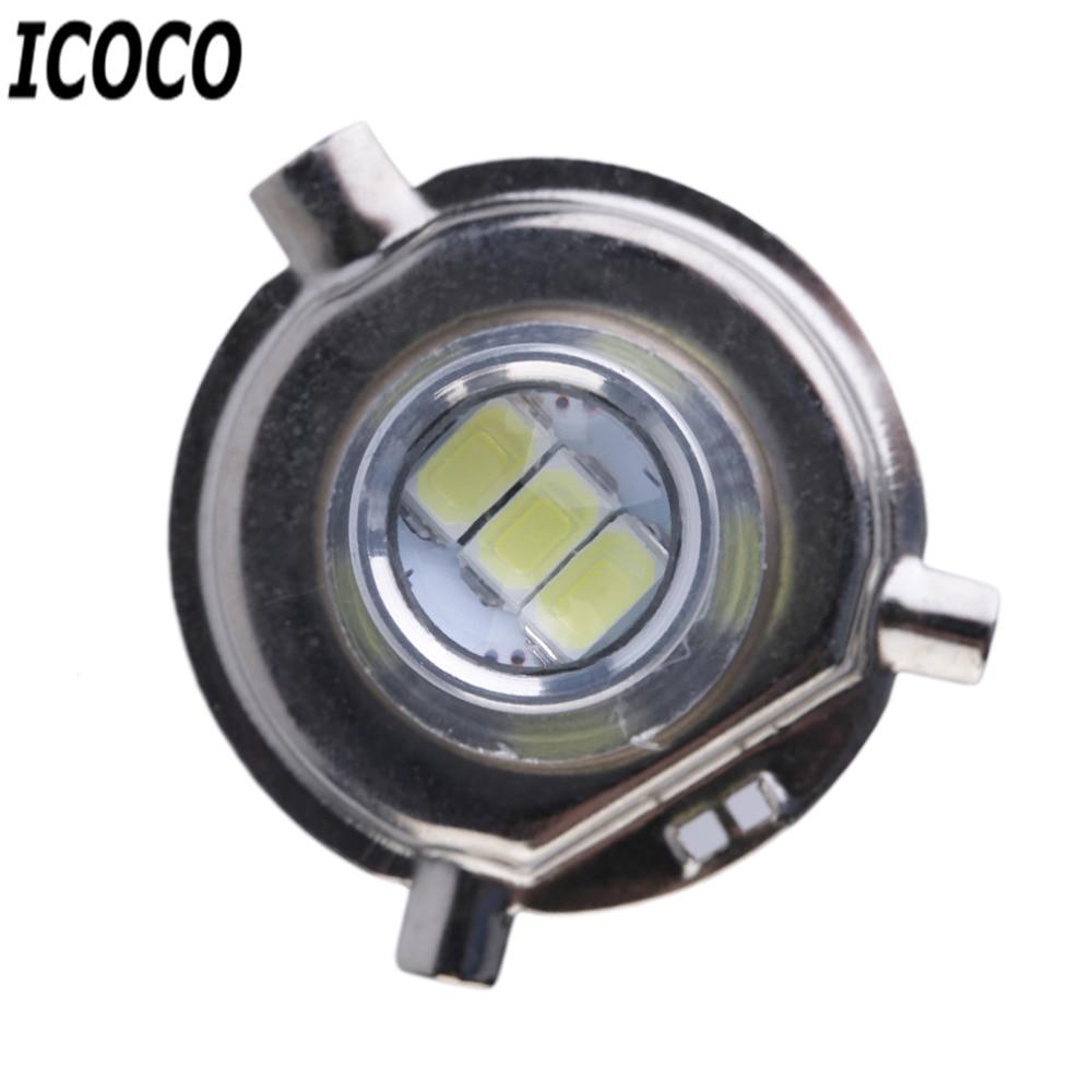 2 pcs/lot High Quality H4 LED 5630 33SMD 12V Super Bright Car Light Source Headlight DRL Daytime Running Lights LED Bulb Lamp