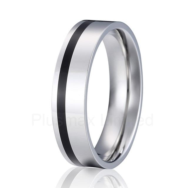 Aliexpresscom Buy titanium wedding band men ring silver and