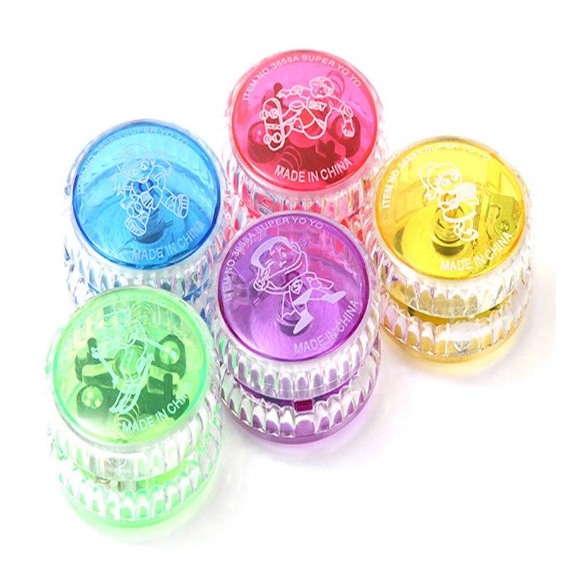 Новая мода Йо-йо мяч световой Профессиональный Йо-йо светодиодный мигает ребенка механизм сцепления йо-йо игрушки для детей Вечерние развл...
