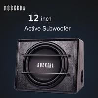 Hot 14kg 12 Inch High Power 12V 24V 220V Round Active Car Subwoofer Speakers Car Audio
