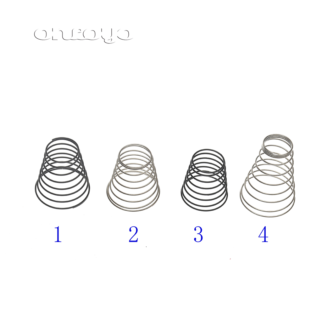 Conical type big stainless steel Tension Spring