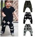2016 novo de Alta qualidade da moda algodão Fino calças Harlan 0-3 ano bebê crianças harem pants crianças menino meninas calças