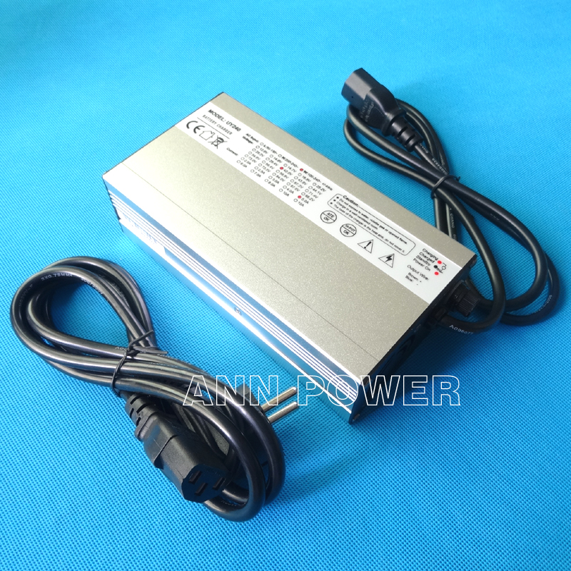 <font><b>36V</b></font> 5A lithium battery <font><b>charger</b></font> 42V 5A aluminum case <font><b>charger</b></font> For <font><b>10S</b></font> <font><b>36V</b></font> Lipo/LiMn2O4/LiCoO2 battery charging Smart <font><b>Charger</b></font> image