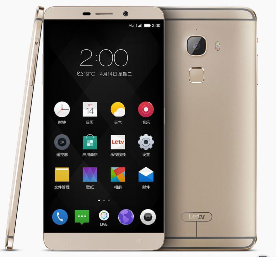LeEco Letv Le Max X900 Octa Core NFC 4 GB RAM 128 GB ROM Mobile teléfono 810 SIM Dual 21mp cámara
