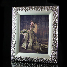 10 inch Metal Desktop Standing and Wall Mounted Metal Photo Frame Picture Frames Picture Display MPF022