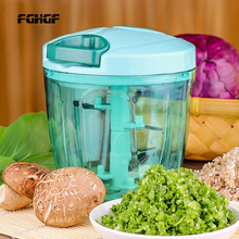 Large capacity manual meat grinder multi-function food processor fruit salad vegetable cutter Dropshipping