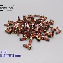 Высокое качество 20 штук 14*6*3 мм топливный инжектор микро фильтр для японских автомобилей OEM MD619962