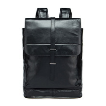 Fashion luxury brand cover men s laptop backpacks Cow Leather Europe and the United States trend