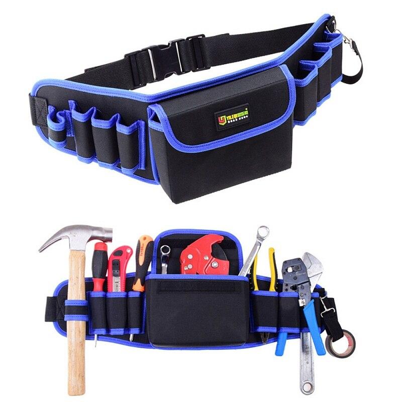 Cintura alta calidad carpintero Martillos Bolsas de herramientas bolsillos  electricista herramienta bolsa titular lona reparación eléctrica DIY Bolsas  de ... 89f64679c93b