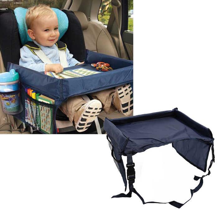 Детский подлокотник для сидения автомобиля держатель для коляски стол для еды детский портативный стол для автомобиля новый детский стол для хранения детской игрушки 33*40*3,5 см Wh