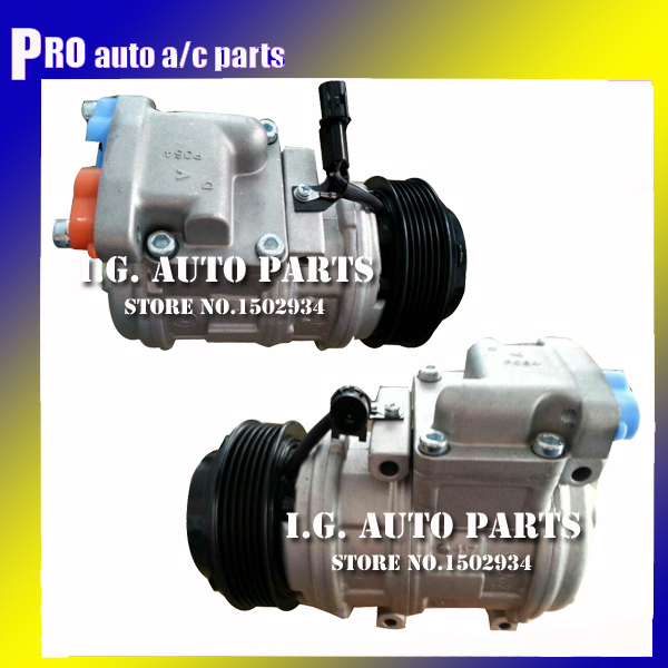 Denso 10pa17c compressor FOR font b CAR b font Ssang Yong Rodius 2 7 air compressor
