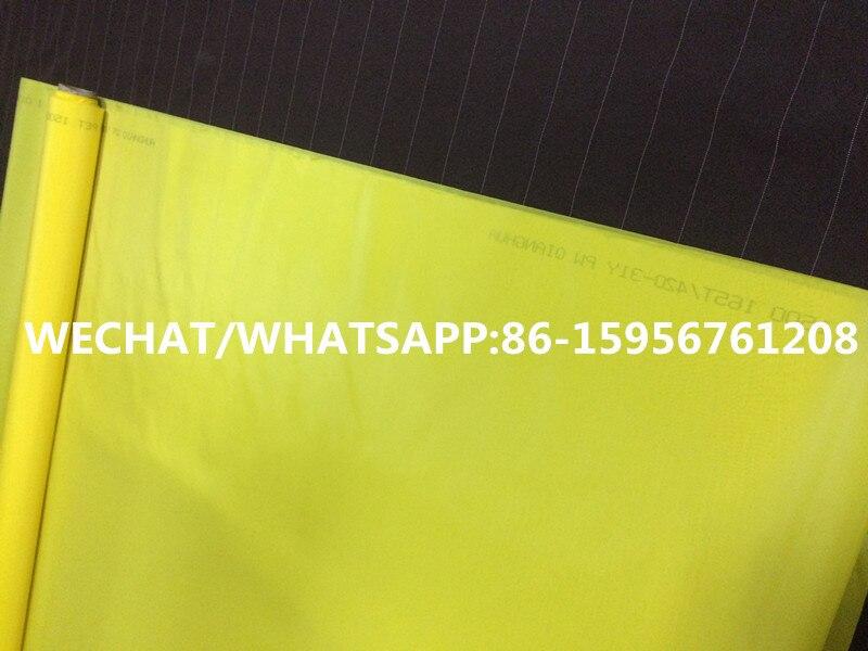 Impresión De Pantalla De Seda Marco De Madera recuento de malla de tamaño A5 A4 A3 47T 77T malla de poliéster