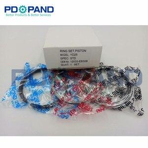 Image 1 - YD25 YD25DDTI STD Full Set Piston Rings for Nissan NAVARA D22/FRONTIER D40/NAVARA Platform/Chassis D40/PATHFINDER R51 2.5