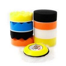 "New 10 Pcs 3"" M6 Thread Polishing Buffing Buffer Pad Kit Car Polisher Air Sander Washing Accessories"