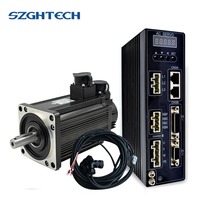 1.5Kw cheap single phase 3000rpm AC Servo Motor+servp driver+5M cable for milling machine or cnc lathe
