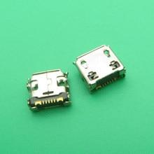 50 個充電コネクタマイクロ USB ポート Dock コネクタ三星銀河 Y GT-S5360 S6102 GT-S6102 GT-S6102B S6802 電話