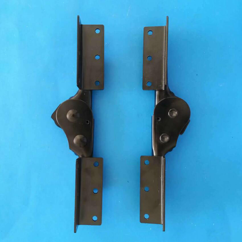 Furniture Hardware 90 degree Sofa Folding hinge Bed frame teeth hinges X2