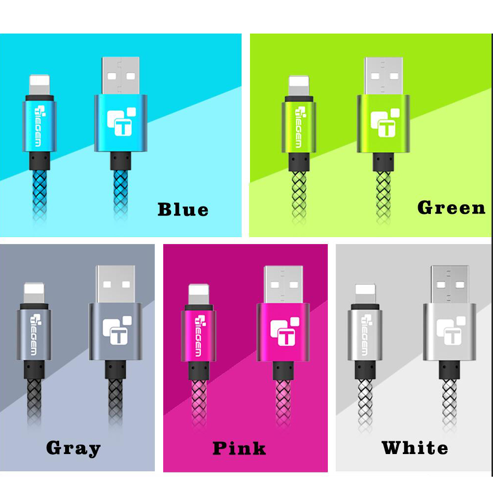USB Charger Cable for iPhone 5
