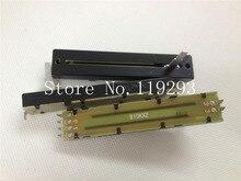 [SA]ALPHA 8.8 cm Straight slide potentiometers B10KX2 20MM shaft–10PCS/LOT
