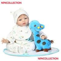 DollMai 55 cm reborn dolls for sale 22silicone reborn baby new born dolls girl boy gift toy dolls bebes reborn menina bonecas