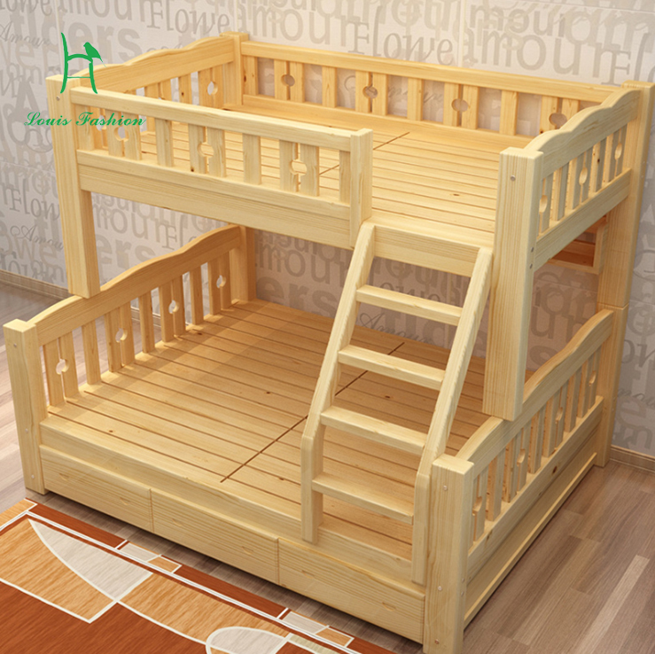 wood fluctuation wooden beds and students item from combination solid on children level lower bed in bunk upper furniture lash