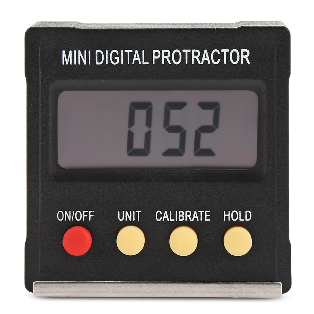 Magnetic LCD Digital Inclinometer Level Box Protractor Angle Finder Gauge US2020