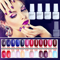 NO.121-144 5ML MINI PACK  2015 Brand New Gelpolish Soak Off UV Gel Polish BASE TOP COAT Primer  Nail Art Color Foundation