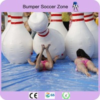 Free Shipping 6 pieces/lot 1.8m Inflatable Bowling Ball Inflatable Human Bowling Sports Zorb Ball For Human Bowling Pins