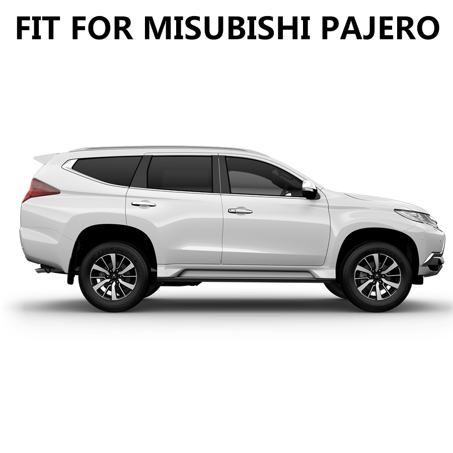 car sticker 2pc car side body stripe gradient styling graphic vinyl car accessories decal custom for mitsubishi pajero sport in Car Stickers from Automobiles Motorcycles